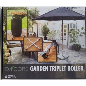 Dacore Garden Triplet Roller med Bremse