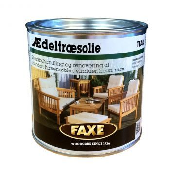 Faxe Ædeltræsolie - Teak  (0,75 L)