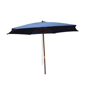 Lifetime Rund Parasol - Blå