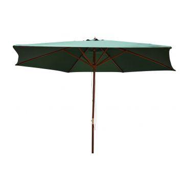 Lifetime Rund Parasol - Grøn
