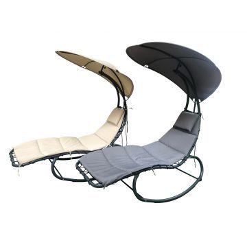 Rocking Drømmestol med Solsejl -