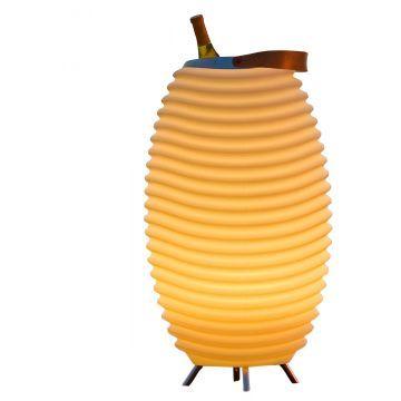 Kooduu Opladelig LED Lampe - Mellem