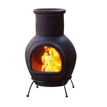 Mexicansk Chiminea - Lille (Brun)
