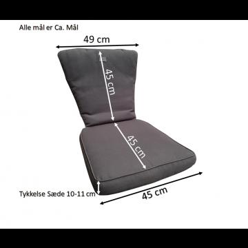 Diana Struktur Sæde/Ryghynde -