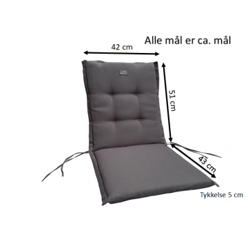 Dacore Struktur Sæde/Ryghynde -