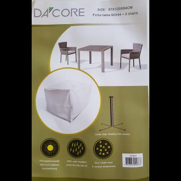 Dacore Overtræk til Havemøbelsæt med 2 Stole